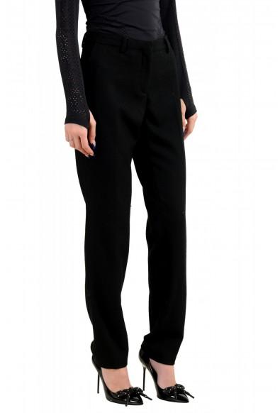 Moncler Women's Black Wool Cashmere Casual Pants : Picture 2