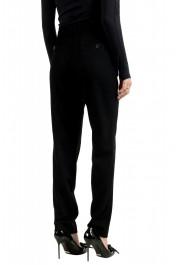 Moncler Women's Black Wool Cashmere Casual Pants : Picture 3