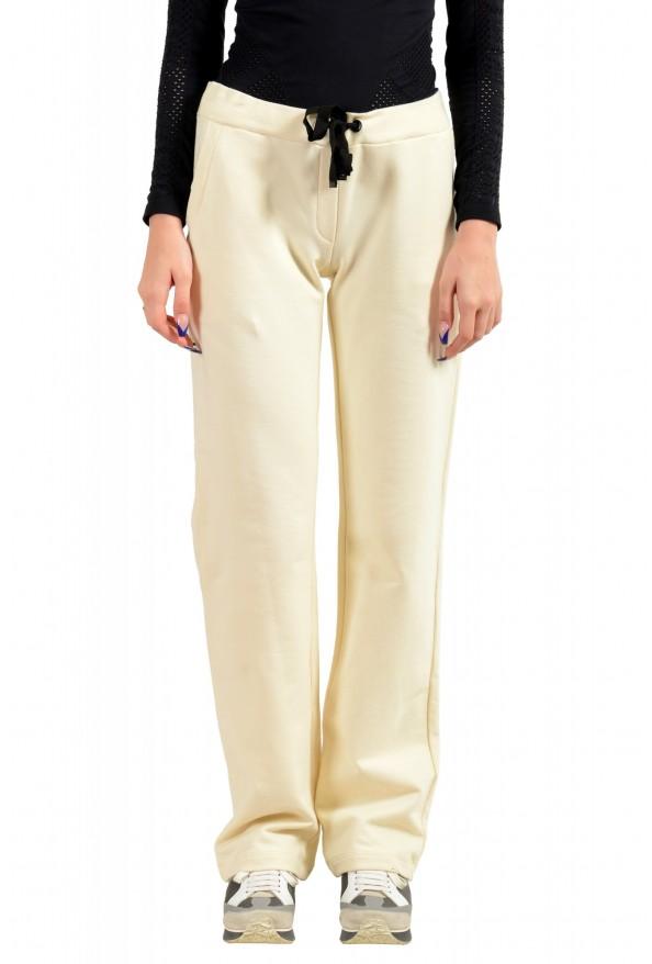 Moncler Women's Ivory Casual Sweat Pants