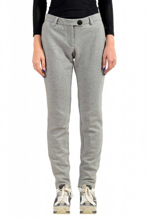 Moncler Women's Gray Casual Pants