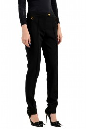 Moncler Women's Black Wool Casual Pants : Picture 2