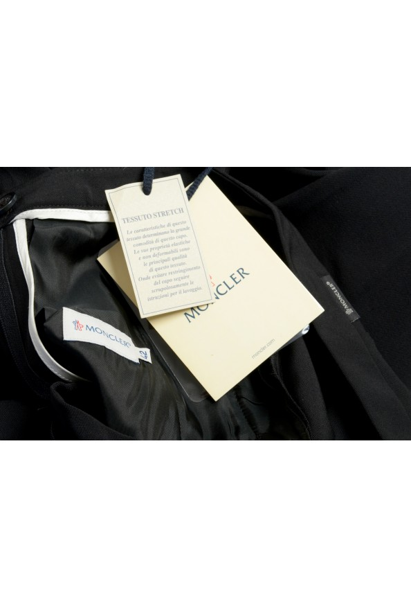 Moncler Women's Black Wool Casual Pants : Picture 5