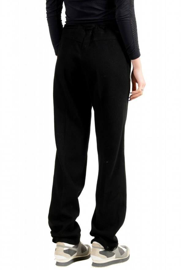 Moncler Women's Black Wool Cashmere Casual Pants: Picture 3