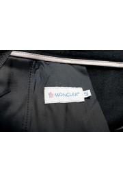 Moncler Women's Black Wool Cashmere Casual Pants: Picture 4