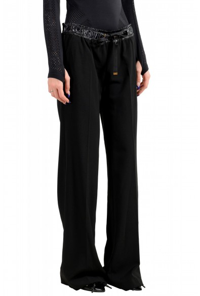 Moncler Women's Black Wool Casual Pants: Picture 2
