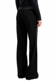 Moncler Women's Black Wool Casual Pants: Picture 3