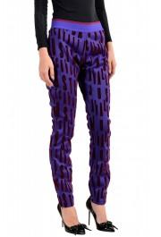 Just Cavalli Women's Multi-Color Elastic Waist Casual Pants: Picture 2