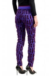 Just Cavalli Women's Multi-Color Elastic Waist Casual Pants: Picture 3