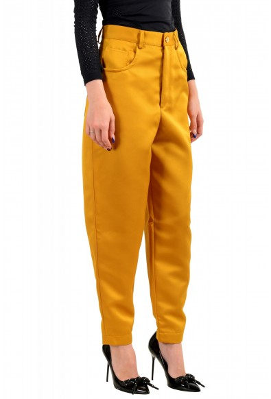Just Cavalli Women's Mustard Yellow High Waisted Jeans: Picture 2