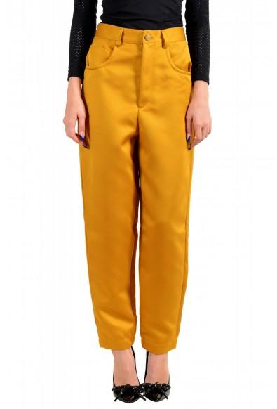 Just Cavalli Women's Mustard Yellow High Waisted Jeans