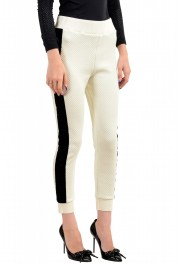 Just Cavalli Women's Logo Print Elastic Waist Casual Pants: Picture 2