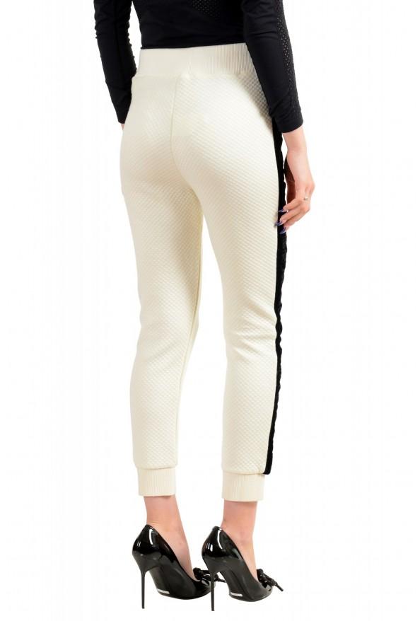 Just Cavalli Women's Logo Print Elastic Waist Casual Pants: Picture 3
