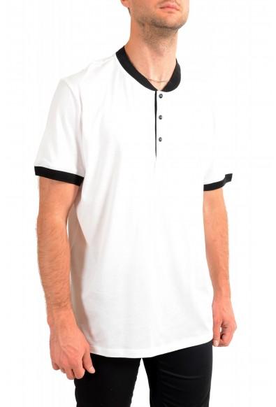 "Hugo Boss Men's ""Denots202"" White Crewneck Short Sleeve T-Shirt: Picture 2"