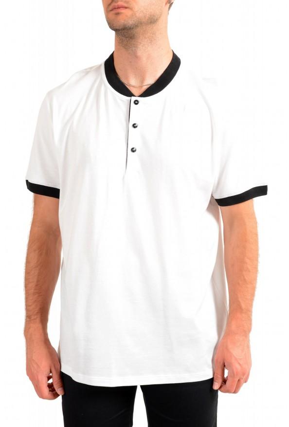"Hugo Boss Men's ""Denots202"" White Crewneck Short Sleeve T-Shirt"