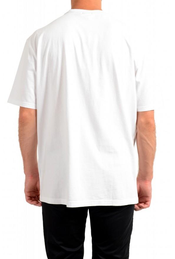 "Hugo Boss Men's ""Tempo2"" White Graphic Crewneck T-Shirt: Picture 3"