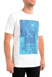 "Hugo Boss Men's ""Troaar3"" White Graphic Crewneck T-Shirt: Picture 2"