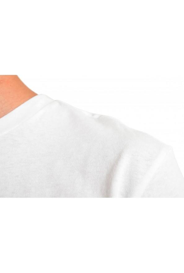 "Hugo Boss Men's ""Troaar3"" White Graphic Crewneck T-Shirt: Picture 4"