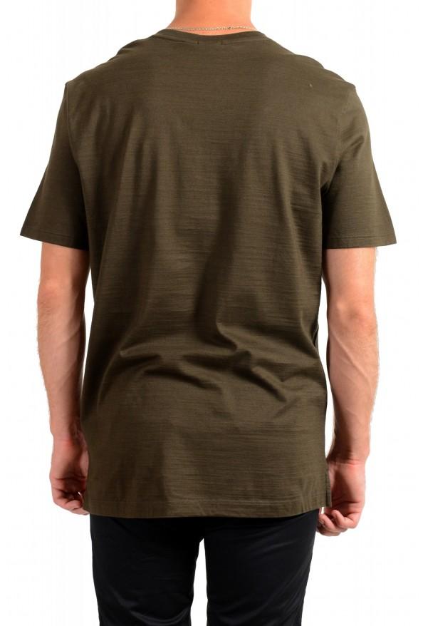 """Hugo Boss Men's """"Tilson100"""" Green V-Neck Short Sleeve T-Shirt: Picture 3"""