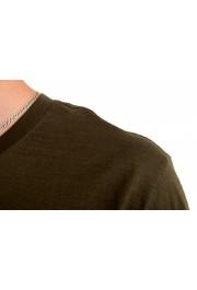 """Hugo Boss Men's """"Tilson100"""" Green V-Neck Short Sleeve T-Shirt: Picture 4"""