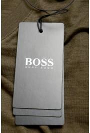 """Hugo Boss Men's """"Tilson100"""" Green V-Neck Short Sleeve T-Shirt: Picture 6"""