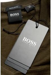 """Hugo Boss Men's """"Tilson100"""" Green V-Neck Short Sleeve T-Shirt: Picture 7"""