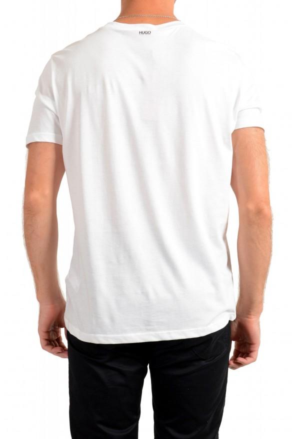 "Hugo Boss Men's ""Dadaist"" White Graphic Print Crewneck T-Shirt: Picture 3"