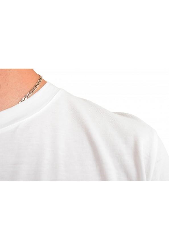 "Hugo Boss Men's ""Dadaist"" White Graphic Print Crewneck T-Shirt: Picture 4"