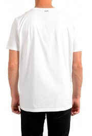 "Hugo Boss Men's ""Dinge"" White Graphic Print Crewneck T-Shirt: Picture 3"