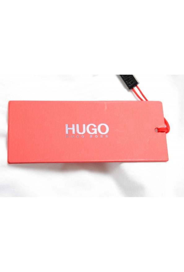 "Hugo Boss Men's ""Dinge"" White Graphic Print Crewneck T-Shirt: Picture 6"