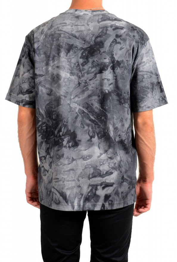 "Hugo Boss Men's ""Taive"" Gray Crewneck Short Sleeve T-Shirt: Picture 3"