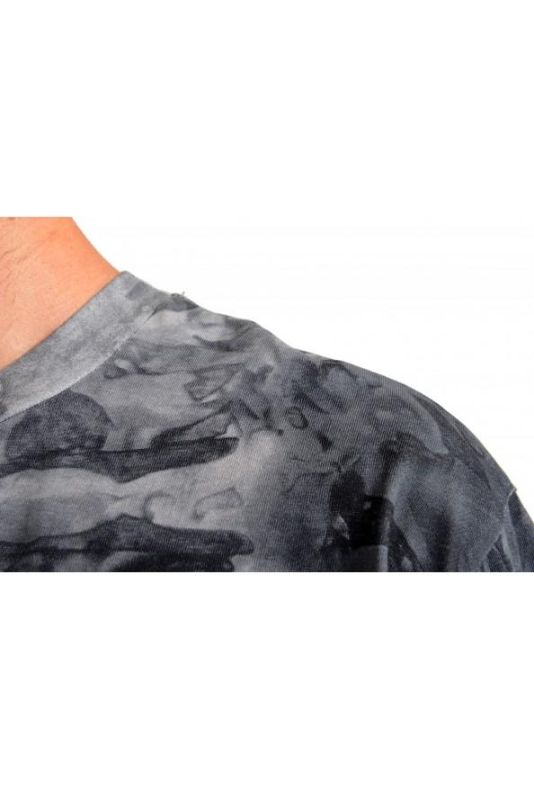 "Hugo Boss Men's ""Taive"" Gray Crewneck Short Sleeve T-Shirt: Picture 4"
