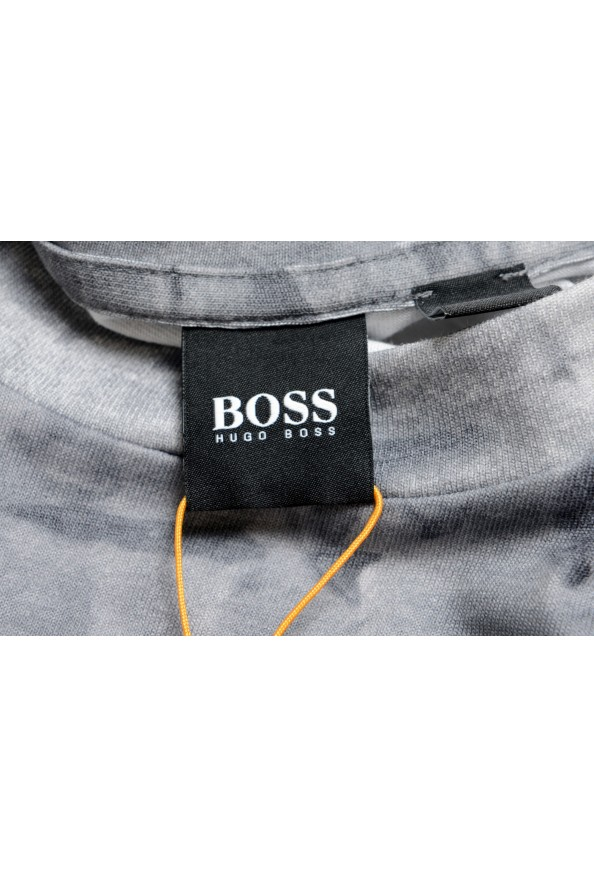 "Hugo Boss Men's ""Taive"" Gray Crewneck Short Sleeve T-Shirt: Picture 5"