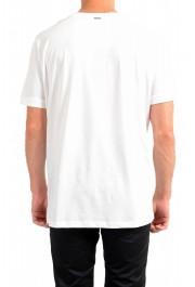 "Hugo Boss Men's ""Diete"" White Graphic Print Crewneck T-Shirt: Picture 3"