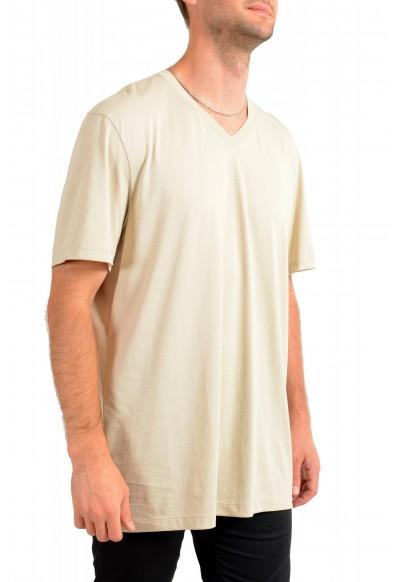 """Hugo Boss Men's """"Tilson55"""" Nude Beige V-Neck Short Sleeve T-Shirt : Picture 2"""