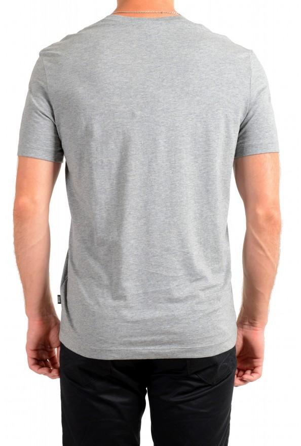 """Hugo Boss Men's """"Tilson 55"""" Regular Fit Gray Basic V-Neck T-Shirt: Picture 3"""
