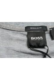 """Hugo Boss Men's """"Tilson 55"""" Regular Fit Gray Basic V-Neck T-Shirt: Picture 5"""