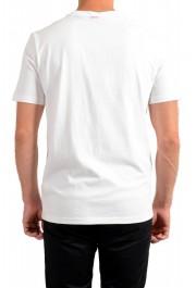 "Hugo Boss Men's ""TApple"" White Graphic Print Crewneck T-Shirt: Picture 3"