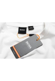 "Hugo Boss Men's ""TApple"" White Graphic Print Crewneck T-Shirt: Picture 6"