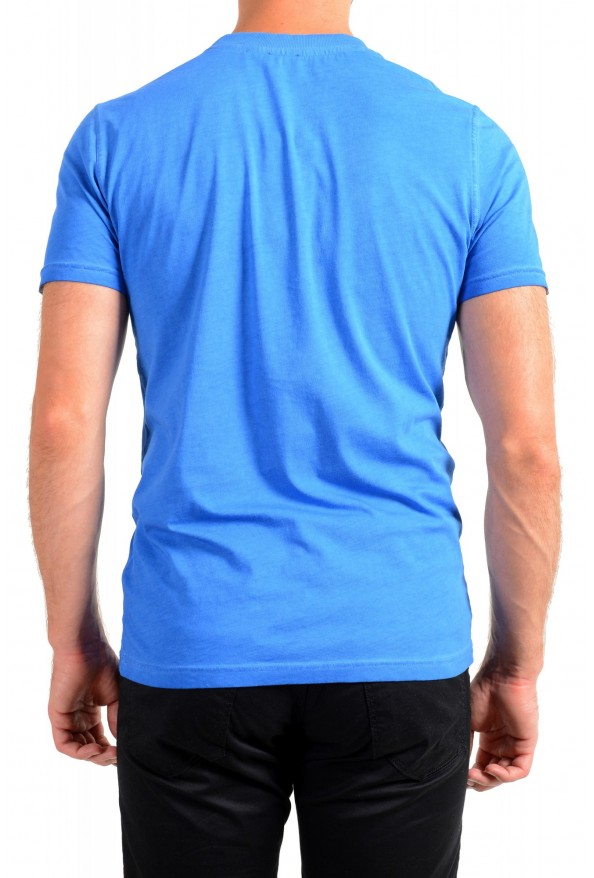 "Hugo Boss Men's ""Toxx"" Blue Basic Crewneck T-Shirt: Picture 3"
