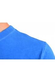 "Hugo Boss Men's ""Toxx"" Blue Basic Crewneck T-Shirt: Picture 4"