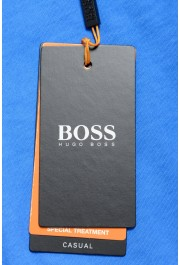 "Hugo Boss Men's ""Toxx"" Blue Basic Crewneck T-Shirt: Picture 6"