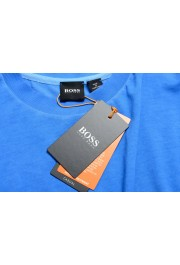 "Hugo Boss Men's ""Toxx"" Blue Basic Crewneck T-Shirt: Picture 7"