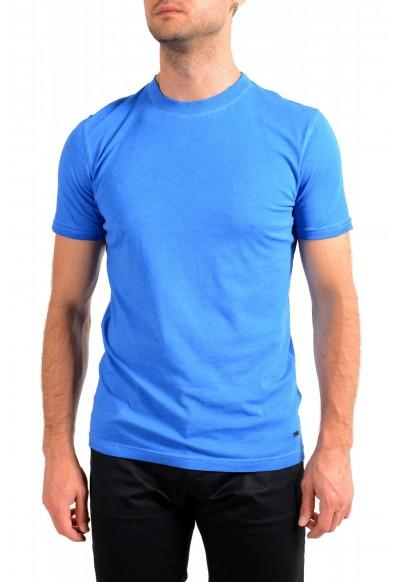 "Hugo Boss Men's ""Toxx"" Blue Basic Crewneck T-Shirt"