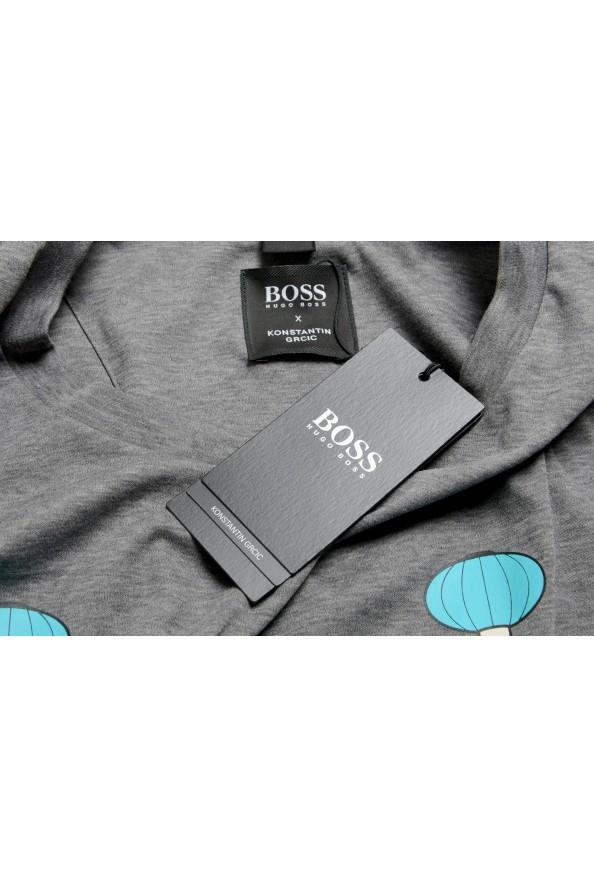 "Hugo Boss X Konstantin GRCIC Men's ""Tiburt 134"" Gray Crewneck T-Shirt: Picture 7"