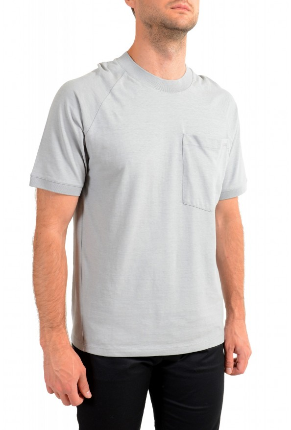 "Hugo Boss Men's ""Dapriz"" Gray Crewneck Oversized T-Shirt: Picture 2"