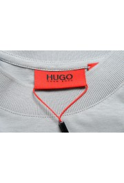 "Hugo Boss Men's ""Dapriz"" Gray Crewneck Oversized T-Shirt: Picture 5"