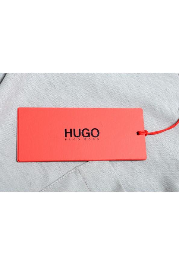 "Hugo Boss Men's ""Dapriz"" Gray Crewneck Oversized T-Shirt: Picture 6"