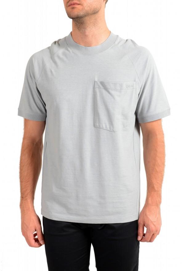 "Hugo Boss Men's ""Dapriz"" Gray Crewneck Oversized T-Shirt"