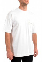 """Hugo Boss Men's """"Tames 09"""" Relaxed Fit White Crewneck T-Shirt: Picture 2"""