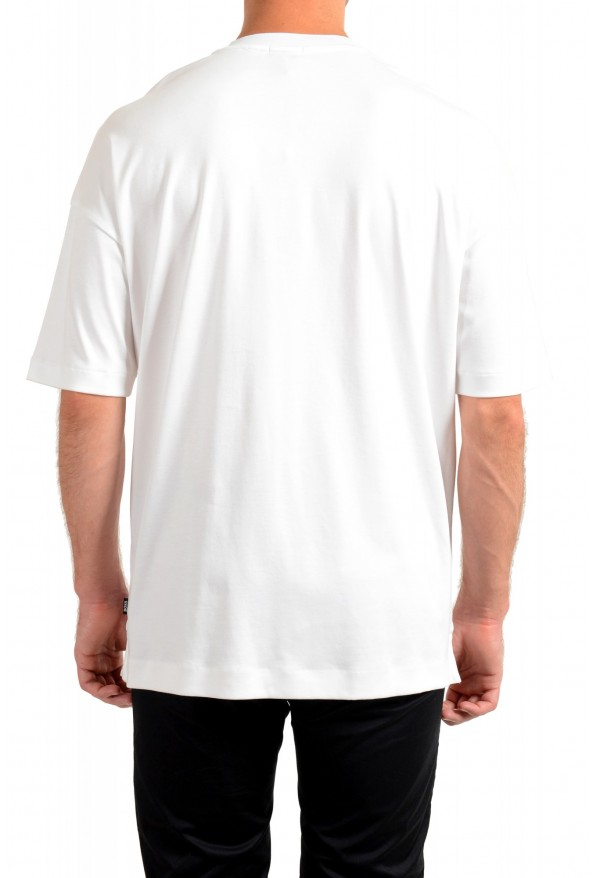 """Hugo Boss Men's """"Tames 09"""" Relaxed Fit White Crewneck T-Shirt: Picture 3"""